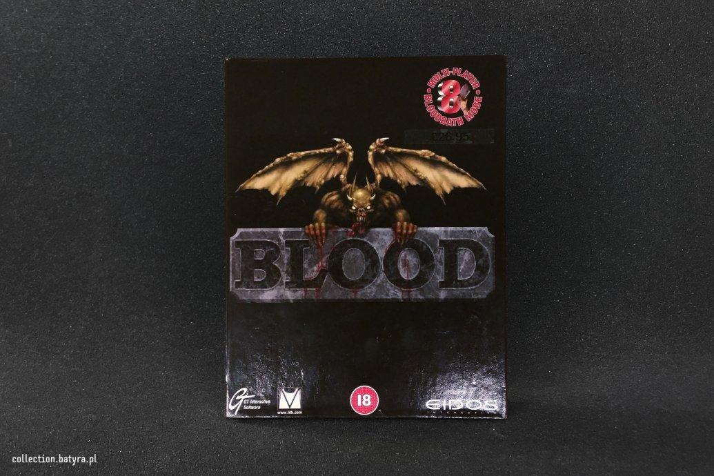 Blood game pc big box