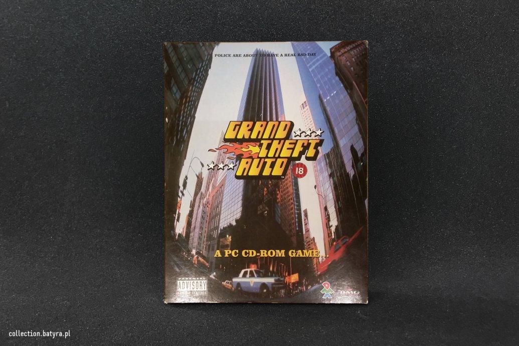 GTA big box pc game