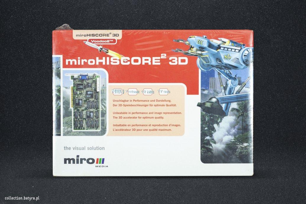 Miro Highscore2 3D