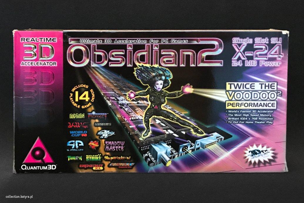 ProductVoodoo 2 Quantum3D Obsidian2 200SB