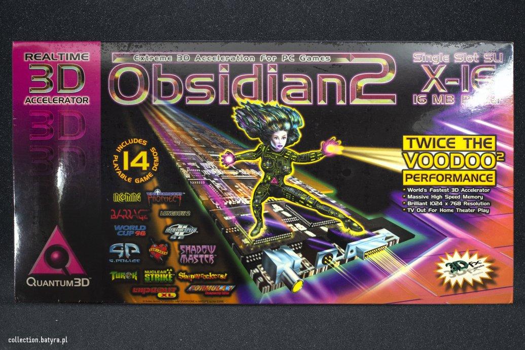 Voodoo 2 Quantum3D Obsidian2 X016