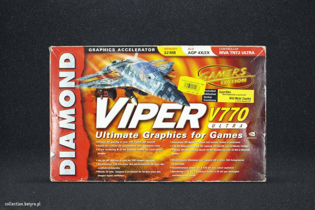 Riva TNT 2 Ultra Diamond Viper V770 Ultra