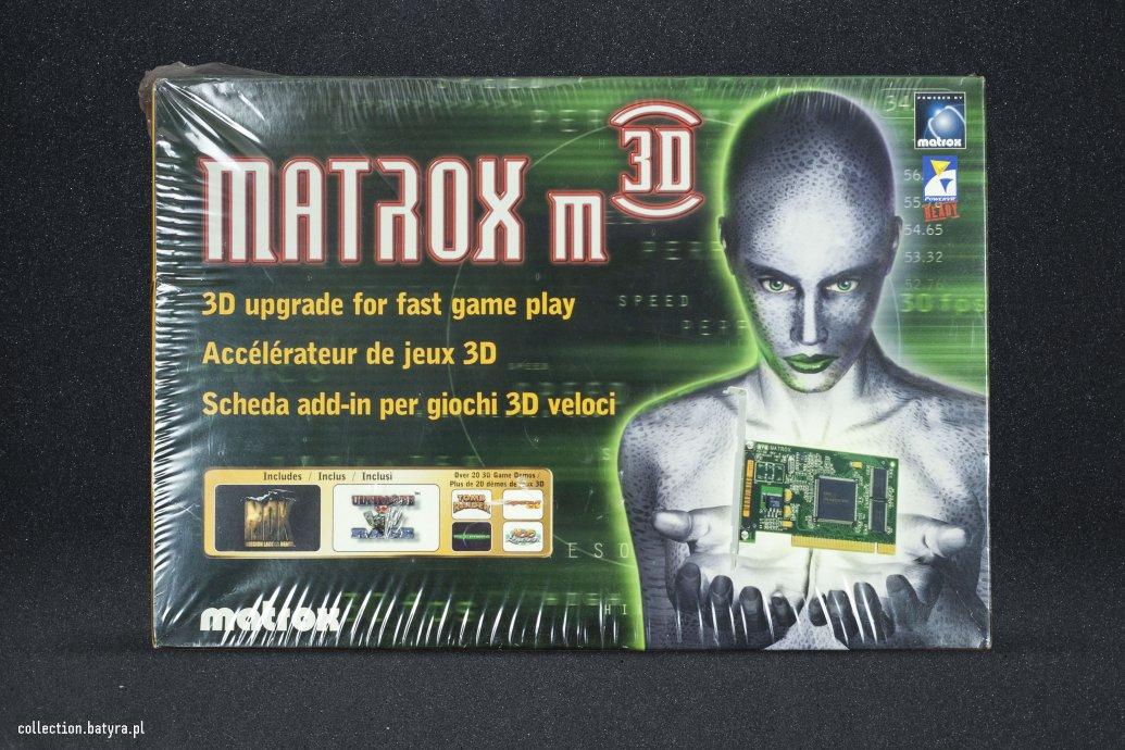 Matrox m3D PowerVR PCX2