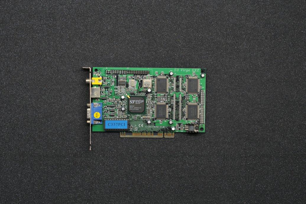 S3 Virge GX2 PCI