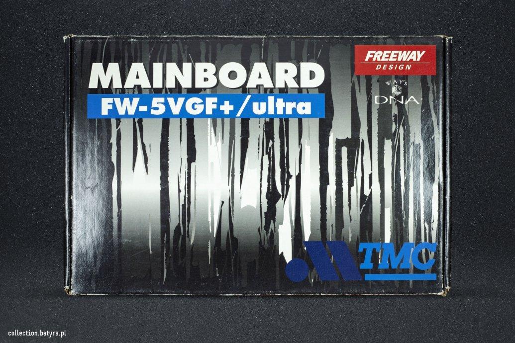 Freeway Design FW-5VGF+/Ultra red PCB- SS7