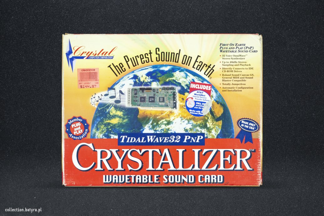 Crystalizer Tidal SoundWave32 PnP