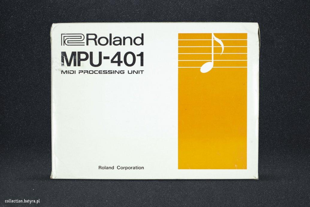 Roland MPU-401 Midi interfece