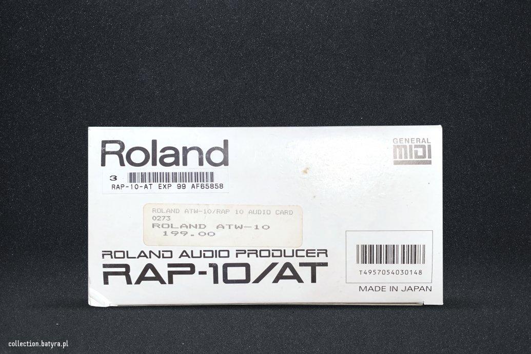 RAP-10 white box