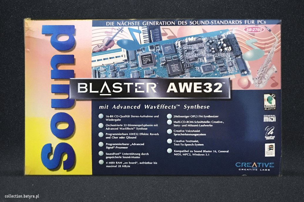 CT2760 Sound Blaster AWE32