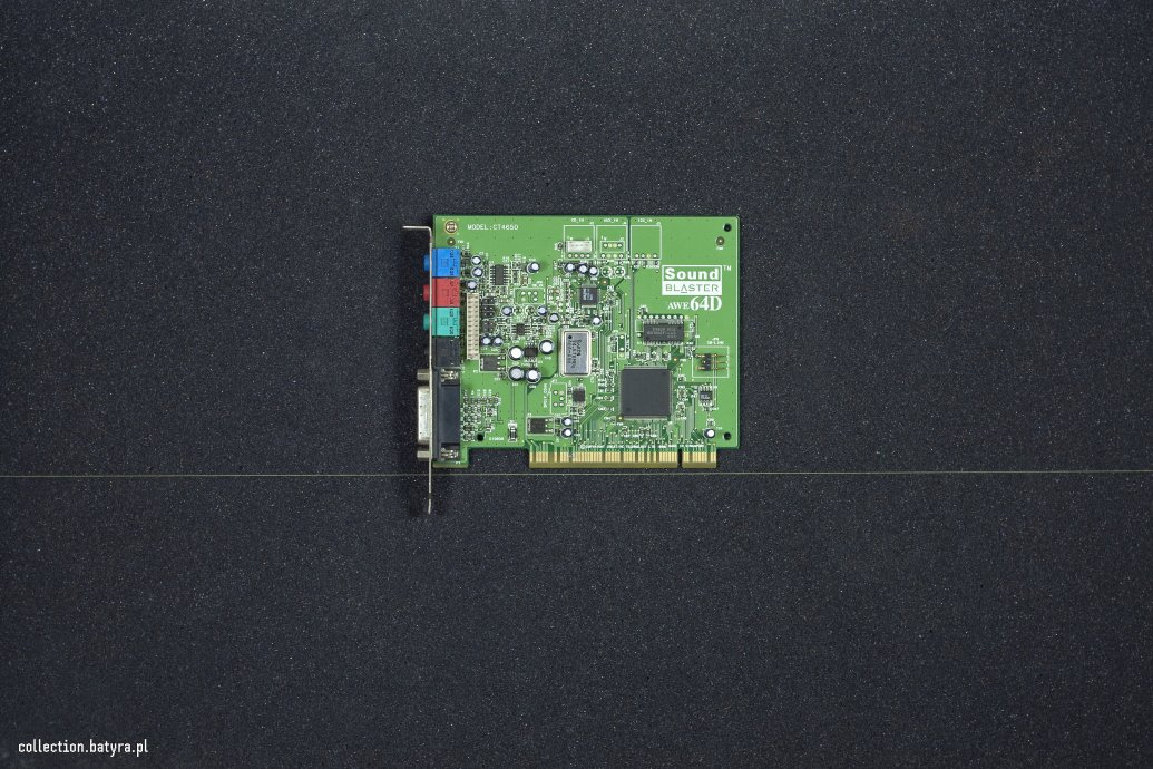 AWE64D PCI CT4650