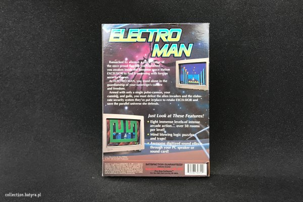 Electro Man / Epic Megagames