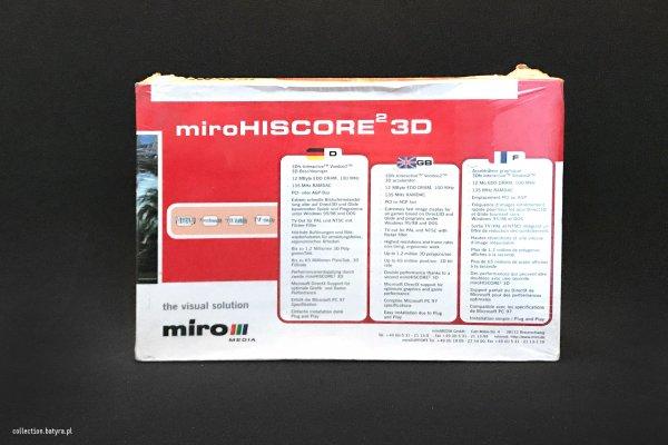 Voodoo 2 MiroHISCORE2 3D 12MB