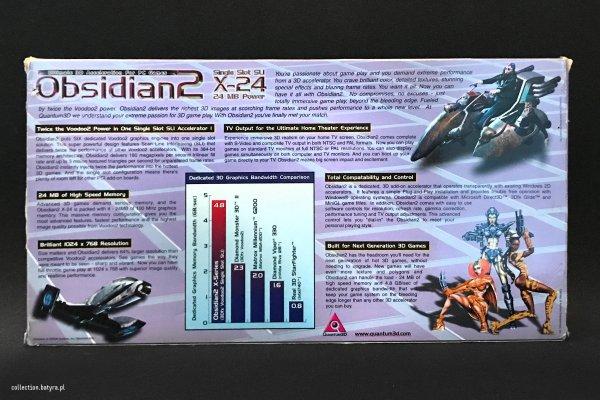 Voodoo 2 Quantum3D Obsidian2 200SB