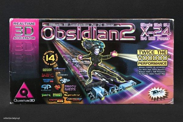 Voodoo 2 Quantum3D Obsidian2 X-24