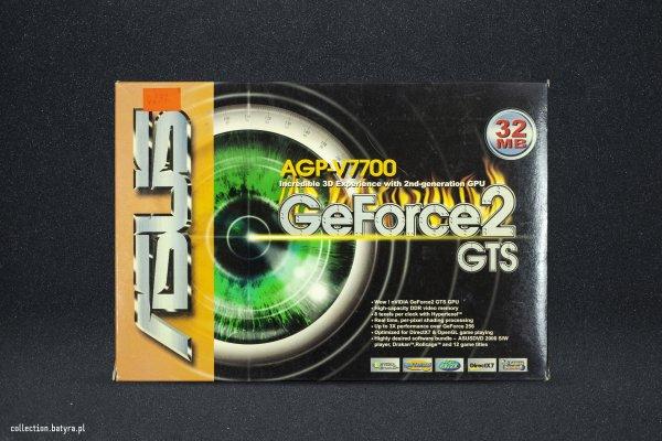 GeForce 2 GTS Asus AGPV7700 TV
