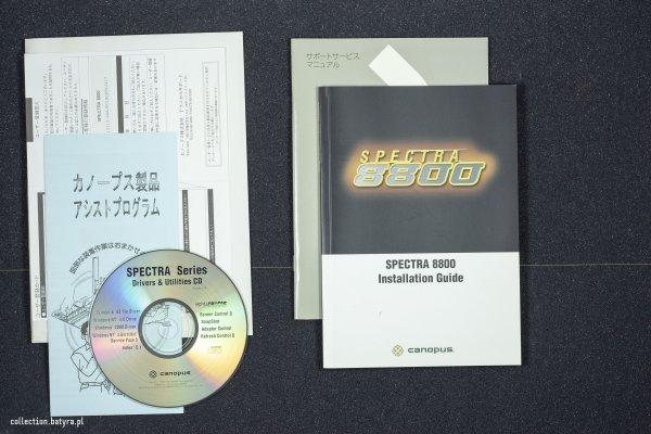 GeForce 2 Ultra Canopus Spectra 8800