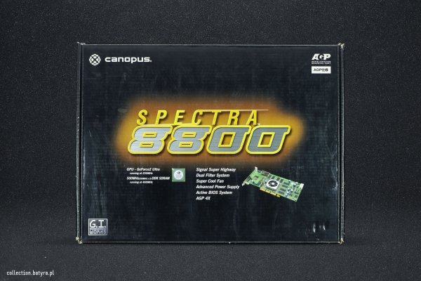GeForce 2 Ultra Canopus Spectra 8800