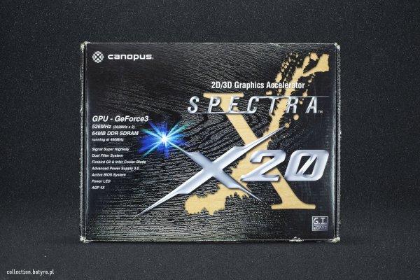 Canopus Spectra X20