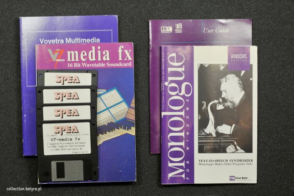 Ensoniq SOundscape S2000 Spea media fx manual and disks