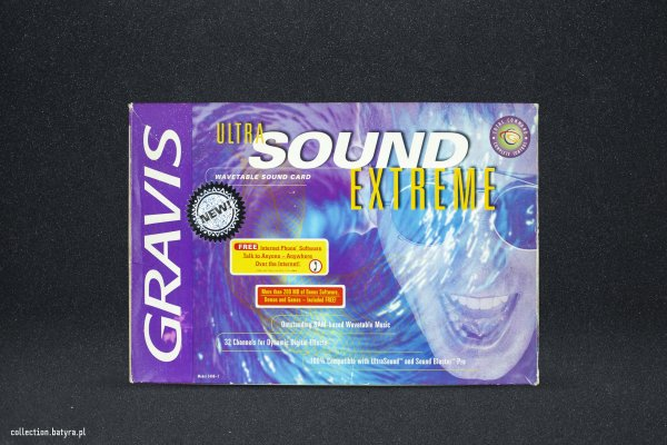 Gravis Ultrasound Extreme 3.0 GUS Extreme