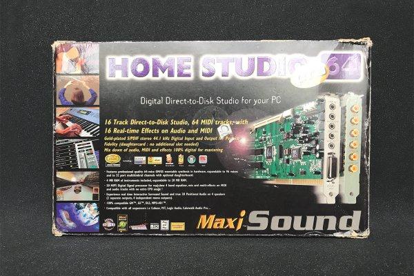Maxi Sound Home Studio