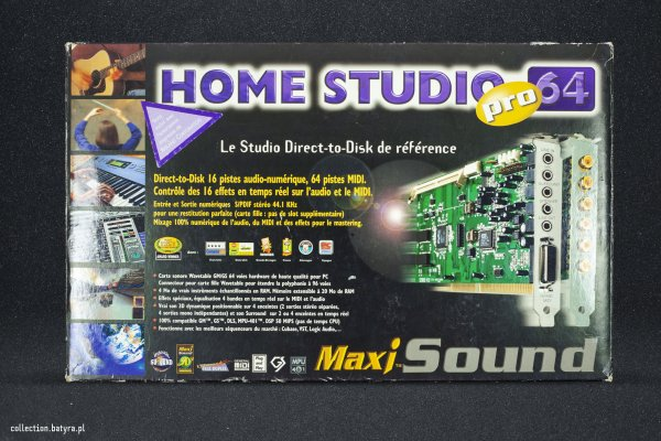 Guillemot Maxi Sound Home Studio Pro64