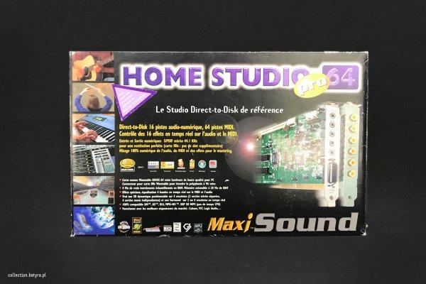 Maxi Sound Home Studio Pro64