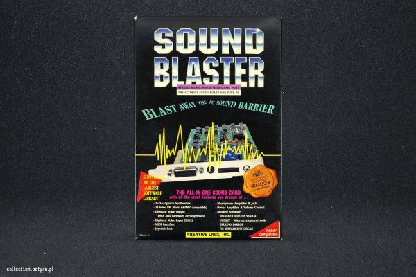 1.5 CT1320C Sound Blaster With CMS Chips