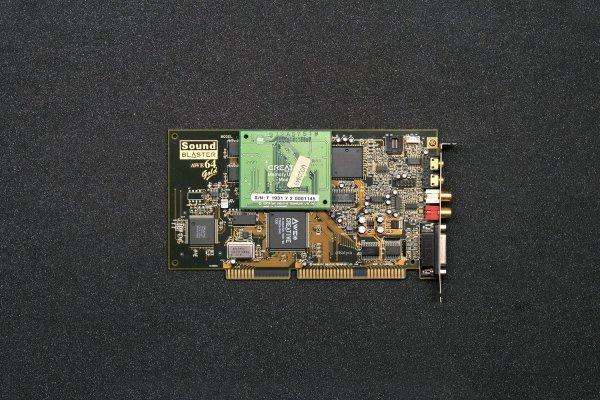 AWE64 Gold CT4390 + Memory upgrade