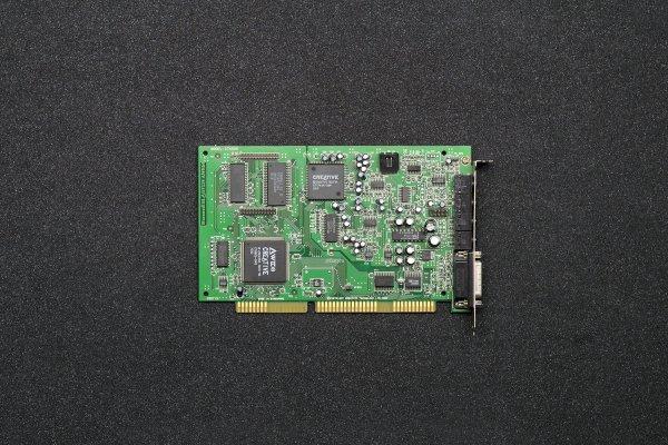sound Blaster AWE64 Value CT4500 Awers