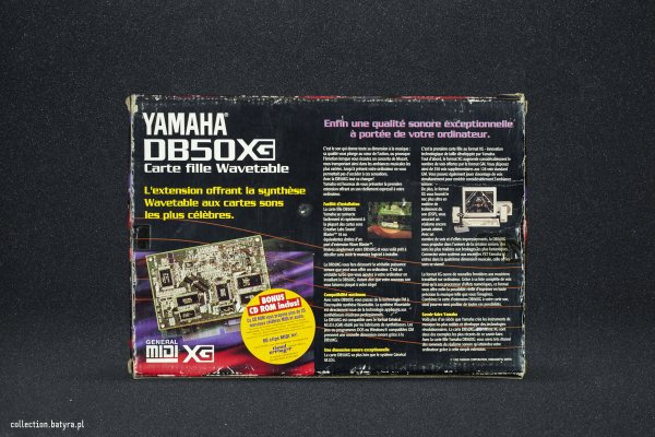 Yamaha DB-50XG Wavetable Daughterboard